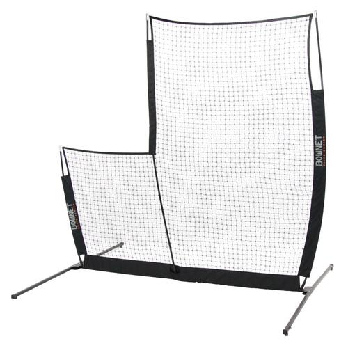 Bownet L-Screen Elite Baseball/Softball 8' x 8' Portable Pitching Screen