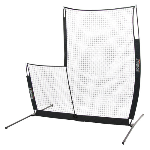 Bownet L-Screen Elite Baseball/Softball 8' x 8' Portable Pitching Screen