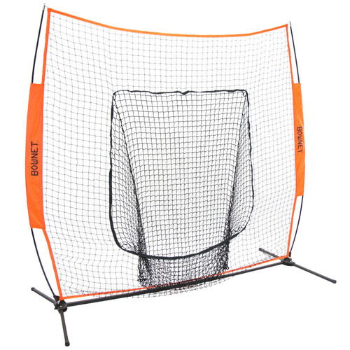 Bownet Big Mouth X Baseball/Softball 7' x7' Portable Hitting Net
