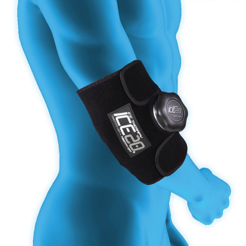 Ice20 Elbow/Small Knee Compression Wrap w/9 Inch Ice Bag
