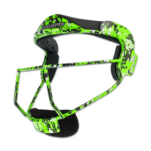 Champro The Grill Digital Camo Softball Fielders Mask