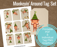 Monkeyin' Around Tag Set