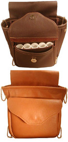 #162 Roomy single pouch with front pocket