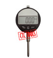 MEASURING DIGITAL DIAL TEST INDICATOR GAUGE EXTENDED LONG TRAVEL GAGE
