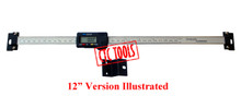 """INSPECTION MEASURING DIGITAL READ OUT DRO GAUGE 6""""  8""""  12"""" INCH 150 MM 150MM 200 MM 200MM 300 MM 300MM MILLING LATHE XY TABLE GAGE"""