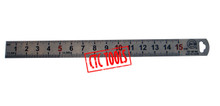INSPECTION MEASURING 150MM RULE RULER METRIC POCKET SIZE