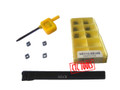 indexable iso standard lathe turning tool holder with screw clamping with Carbide Insert CCMT