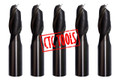 2 FLUTE HSS AL SLOT DRILL CUTTER - METRIC (5PCS) #P65