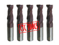 TiAlN Coated Tungsten Micrograin Carbide Cutters Slot Drills For  In Sizes 1MM To 20MM CNC ENDMILL END MILL