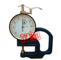 METRIC PLATE THICKNESS DIAL GAUGE GAGE 0.01MM RANGE 10MM MEASURING