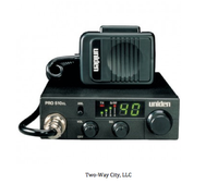 Uniden PRO 510XL 40-Channel 7-Watt Compact CB Radio - Black