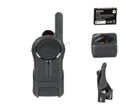 Motorola DLR1060 Digital Two Way Radio, Charger, Battery, and Belt Clip