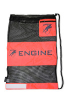 Mesh Gear Bag - Orange