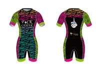Titaness 'Kaleidoscope' Short Sleeve Tri Suit