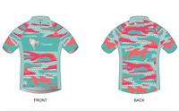 'Corky Camo Edition' Short Sleeve Cycling Jersey