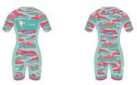 'Corky Camo Edition' Short Sleeve Tri Suit