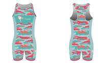 'Corky Camo Edition' Sleeveless Tri Suit