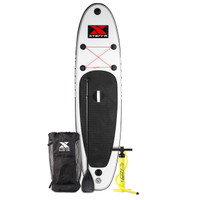 10' Inflatable White SUP Package