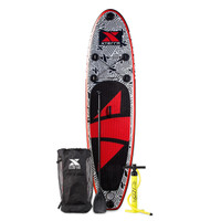 10' Inflatable Mayhem White SUP Package