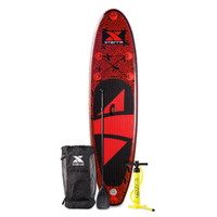 10' Inflatable Mayhem Red SUP Package