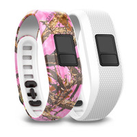Pink Camo and White Bands (vívofit® 3)
