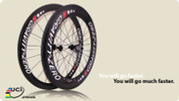 85/50mm Carbon Rim UCI Approved (Clincher)