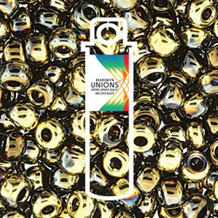 Black Amber Unions 11/0 Seed Beads Round Rocailles 24 Grams