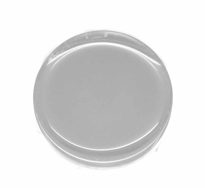 3 Clear Glass Tile Cabochon Clear 25mm 1 Inch Non-calibrated Round