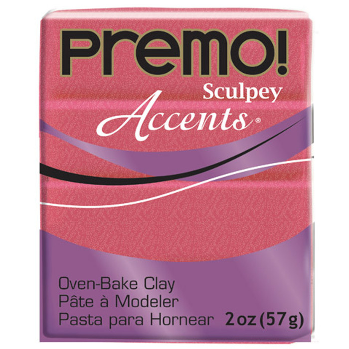 Sculpey Premo Accents Polymer Clay 2oz Sunset Pearl