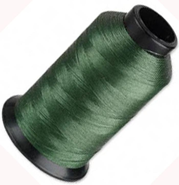 "Nymo Nylon Seed Bead Thread Size D Green 0.012"" 0.34mm 3-ounce spool"