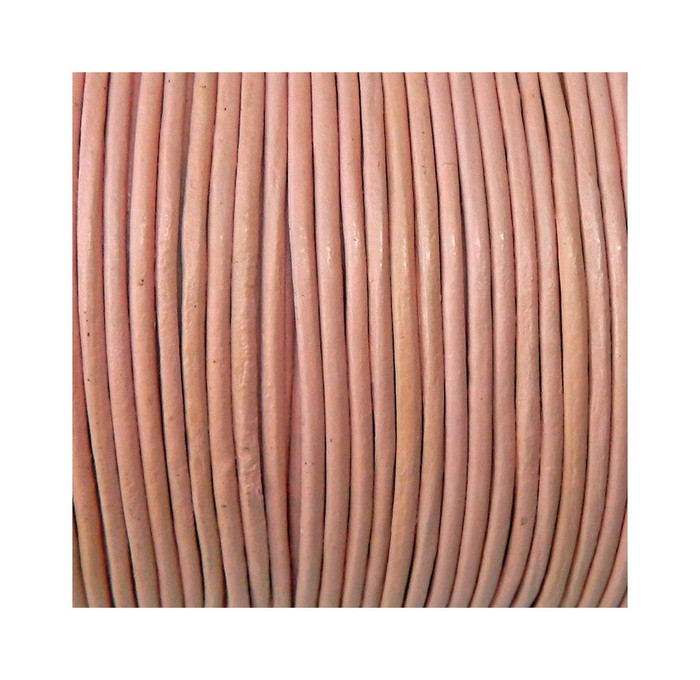 Imported India Leather Cord 2mm Round 5 Yards 3