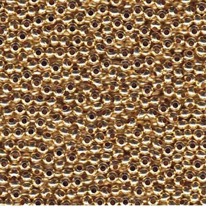Tiny Gilding Metal Seed Beads Tiny 15/0 Seed Bead Approx 14 Gram Tube