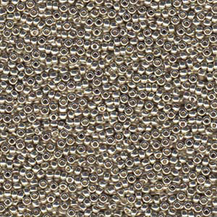 Silver 20 Grams Miyuki 6/0 Seed Bead Duracoat Galvanized 20 Gram