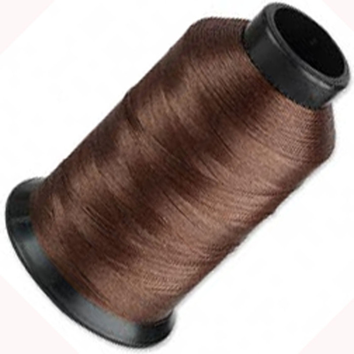 "Nymo Nylon Seed Bead Thread Size D Brown 0.012"" 0.34mm 3-ounce spool"