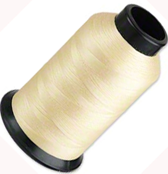 "Nymo Nylon Seed Bead Thread Size B Tan 0.008"" 0.203mm, 3-ounce spool"