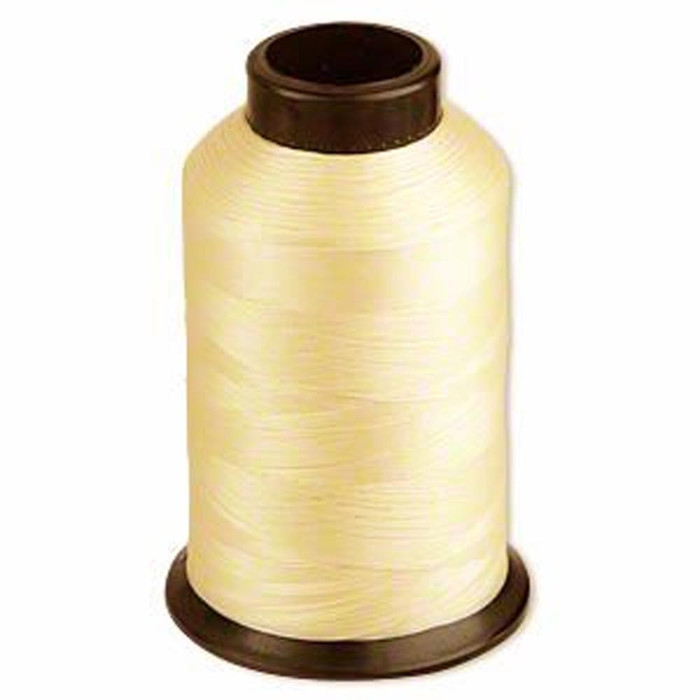 Nymo Thread Size D Tan 0.012 Inch 0.34mm 3 Ounce Spool 1584 Yd