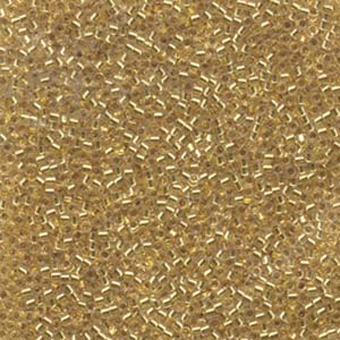 24kt Gold Lined (Db33) Delica Myiuki 11/0 Seed Bead 7.2 Gram