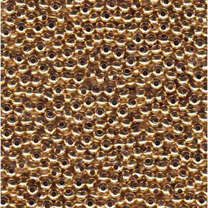 Metal Seed Bead 11/0 24K GOLD PLATE 15 Grams
