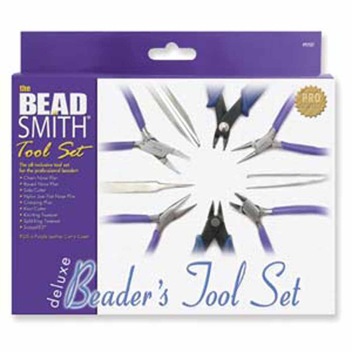 BeadSmith Deluxe Beader's Tool Pliers Kit Sugg Retail $59.90
