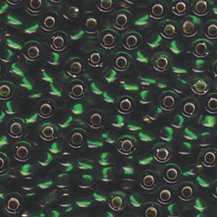 Green S/L Miyuki E Beads 5/0 Seed Bead Glass 20 Gram