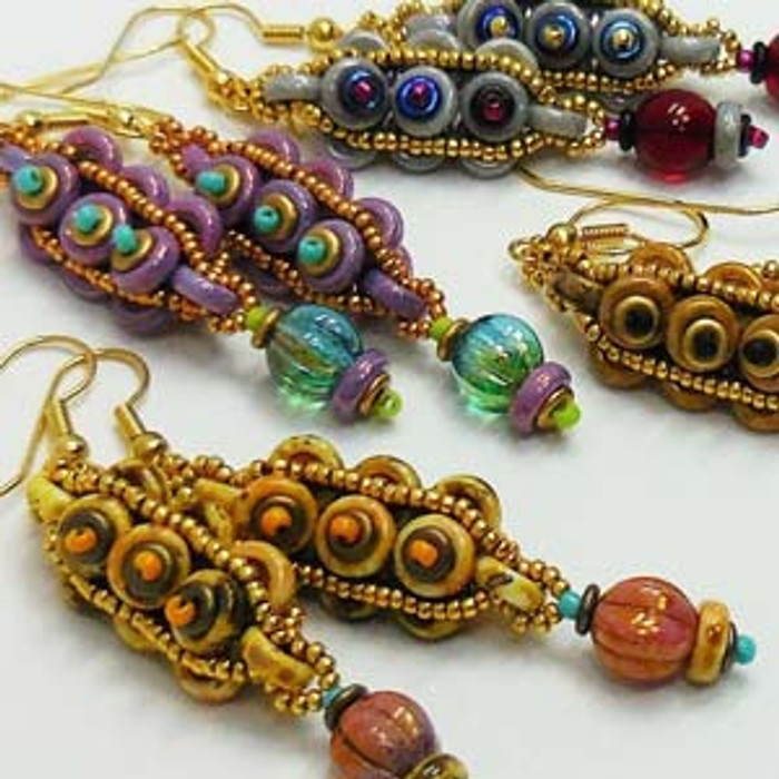 COBBLESTONE- Free Jewelry Making Project complements of Bead Smith(R)