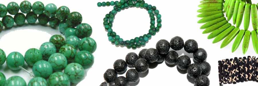 Stone & Boane Beads