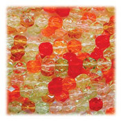 Tango Mix 48 Czech 10mm Faceted Round Firepolished Glass Beads