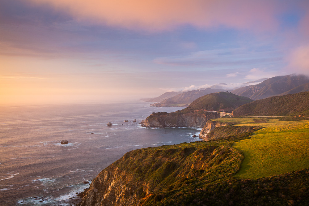 Sunset, The Bixby Bridge