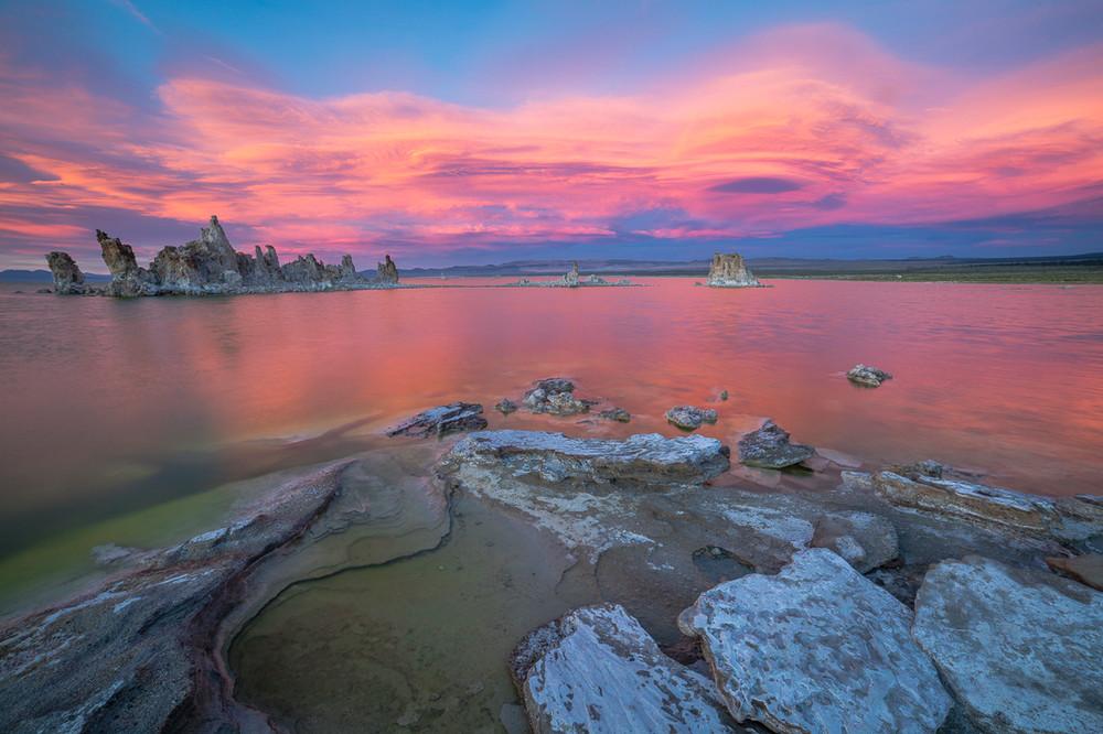 Sunset Glow - South Tufa