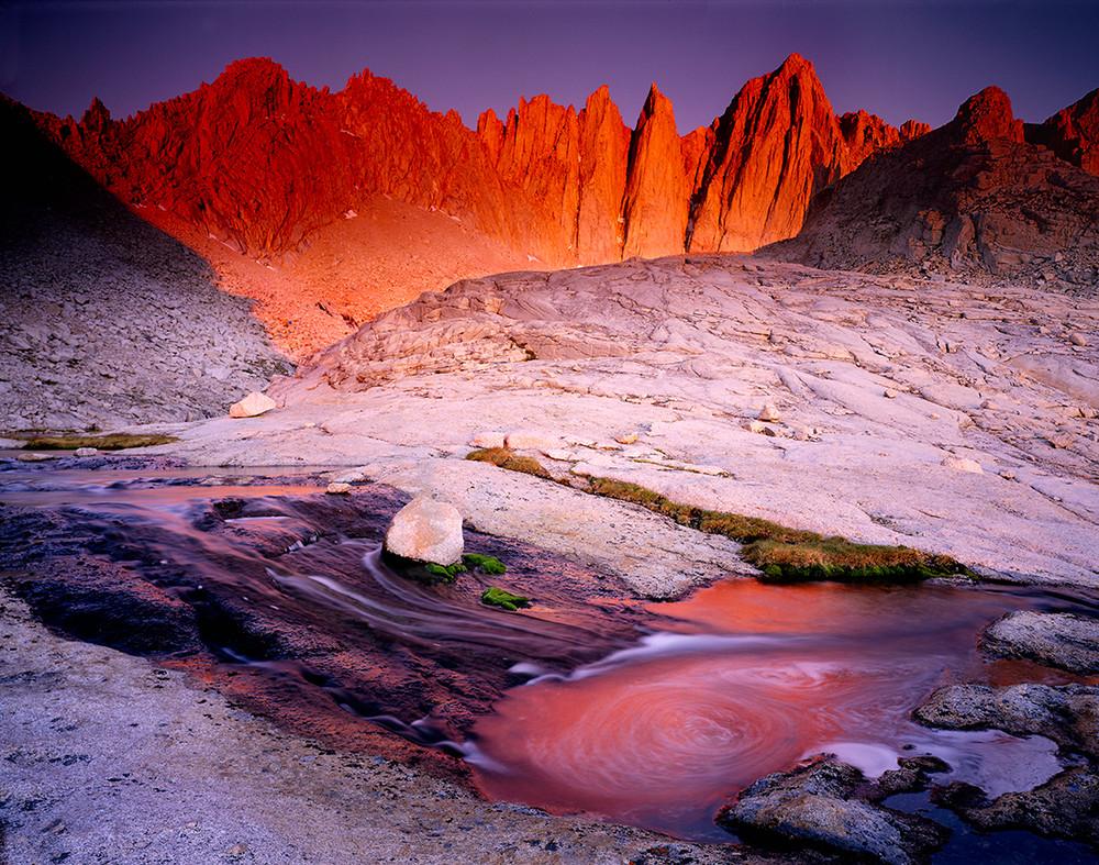 Summer Dawn - Mount Whitney