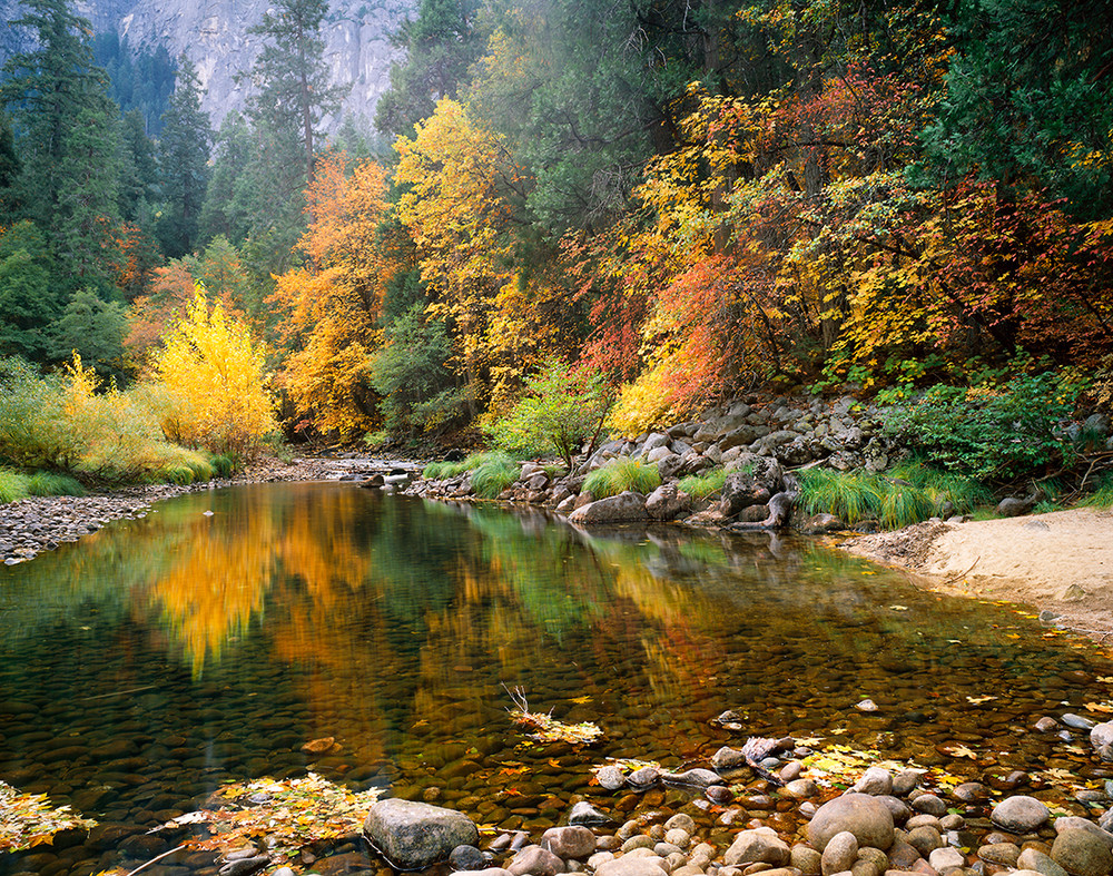 Merced River near Pohono Bridge