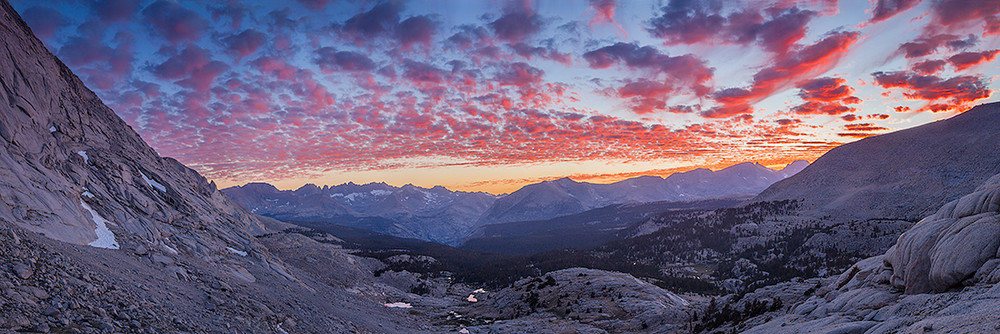 Sunset - The Great Western Divide