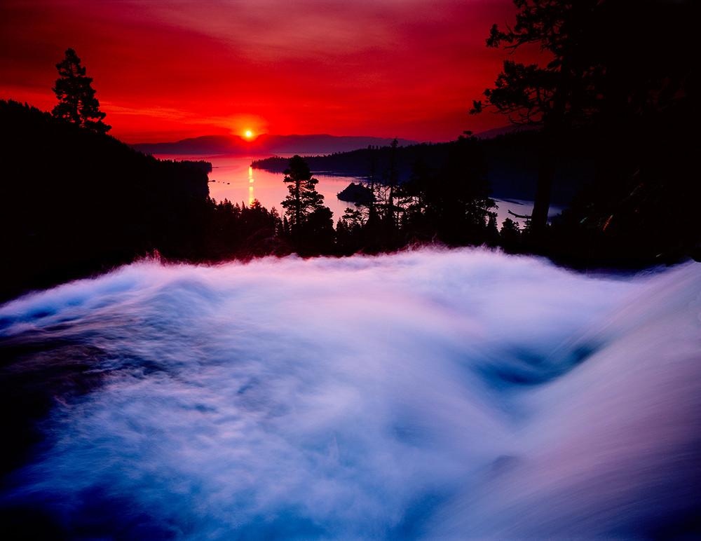 Eagle Falls above Emerald Bay - Dawn