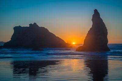 Face Rock State Park Sunset